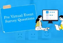 Pre Virtual Event Survey Questions