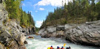 4 Water Rafting Destinations
