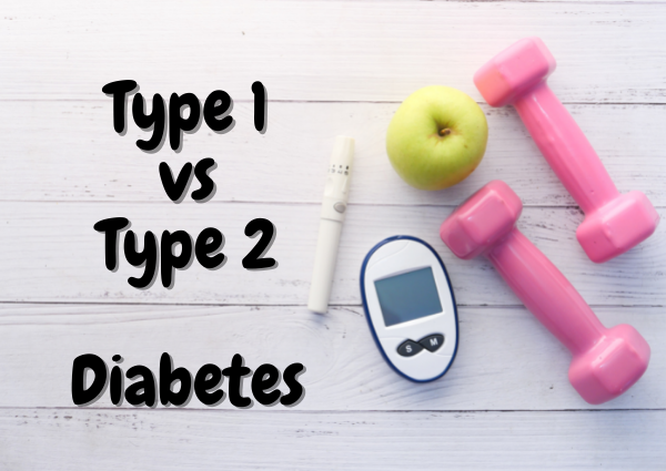 Difference between type 1 and type 2 diabetes