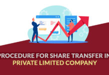Procedure for Share Transfer in Private Limited Company