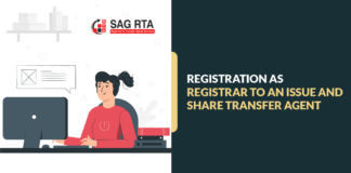 Registration as Registrar to an Issue and Share Transfer Agent