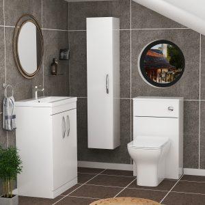toilet and sink vanity unit i