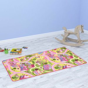 hildren prayer mat interactive designed to educate children(or adults) on how to perform the Muslim prayer