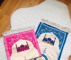Children prayer mat interactive designed to educate children(or adults) on how to perform the Muslim prayer in a fun and enjoyable way
