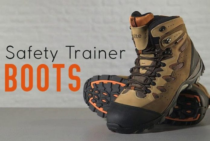safety trainer boots
