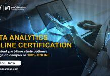 Data Analytics Online Certification