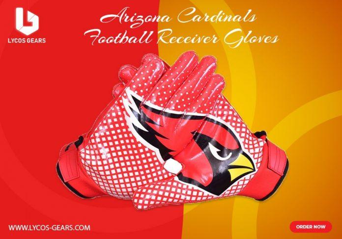 ArizonaArizona Cardinals football gloves