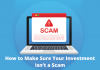 How to Make Sure Your Investment Isn't a Scam