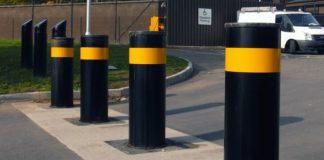 driveway parking post
