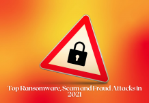 Top Ransomware, Scam and Fraud Attacks in 2021