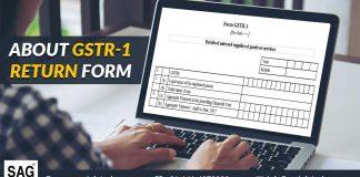 About GSTR-1 Return Form