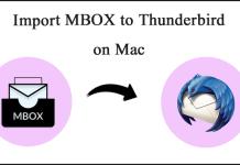 Import MBOX to Thunderbird Mac